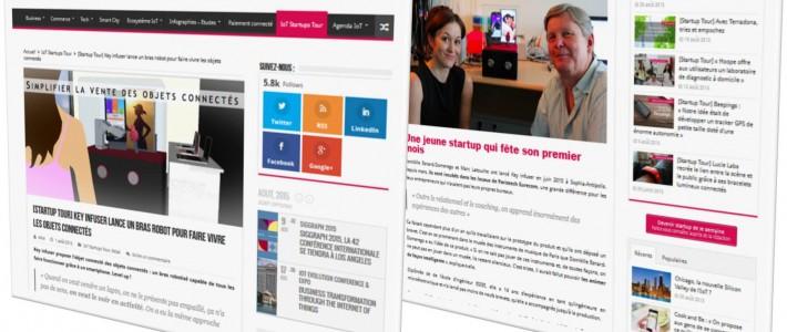 ObjetConnecte.com fait le tour du monde des startups