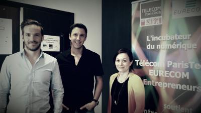 Key Infuser rejoint l'incubateur Telecom Paristech Eurecom
