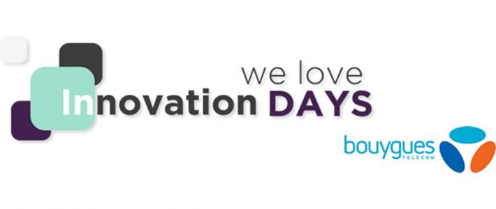 Tapis rouge pour KiOne aux Innovation Days de Bouygues